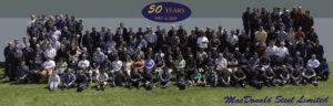 MacDonald Steel HDP Group Photo of employees