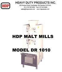 Brochure - DR 1010 Malt Mills