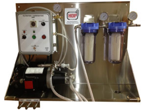 Filter / Carbonator with Panel - for beer, wine or cider