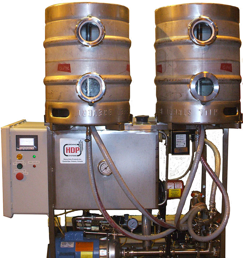HDP - Brewery Equipment - Keg Washers