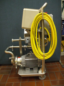 HDP - Brewery Equipment - Pump Carts