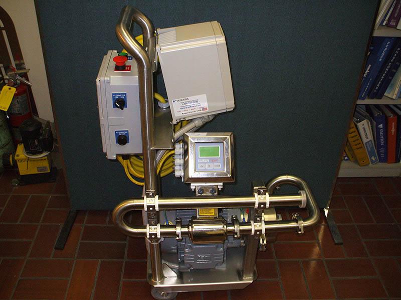 Pump Cart With Vfd1 Macdonald Steel Hdp